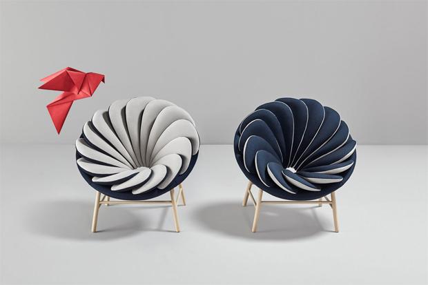 fotel, párna, napraforgó, viárg, virágszirom, Marc Venot, Missana, Quetzal