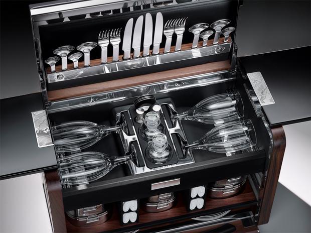 Rolls-Royce, piknik, luxus, b�r�nd, Phantom Zenith