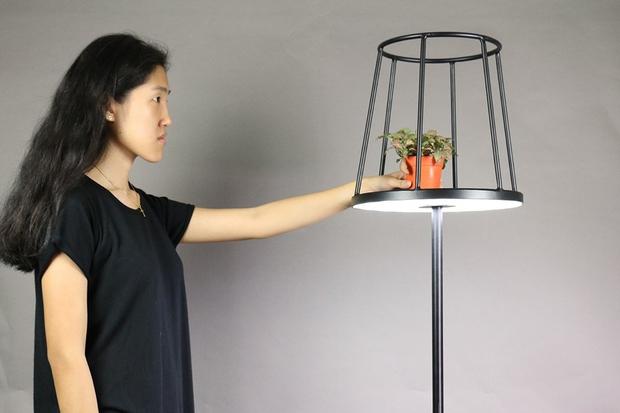 l�mpa, sziluett, LED, �ll�l�mpa, Kevin Chiam