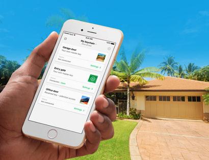 Nold, Open, HomeKit, okosotthon, garázsnyitó, Bluetooth, Apple