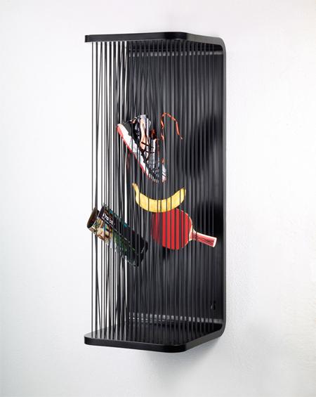 Paul Ketz, tároló, acél, gumi, rugalmas, rendszerezés, rendrakás