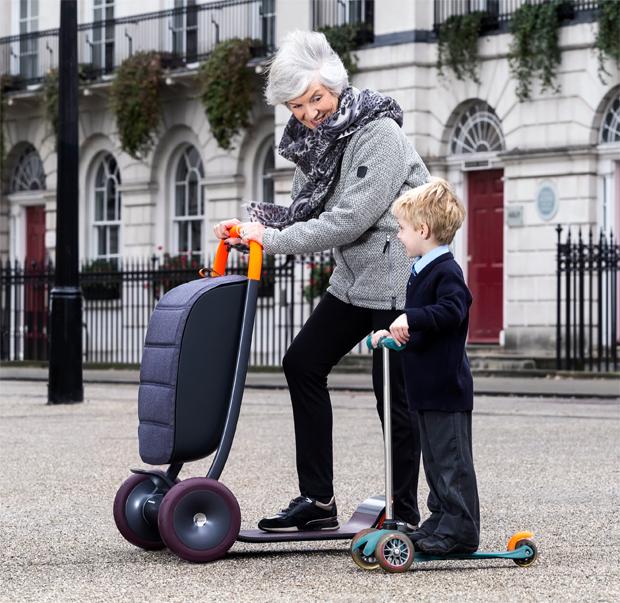 Priestman Goode, Scooter, roller, banyatank, közlekedés, idősebbeknek