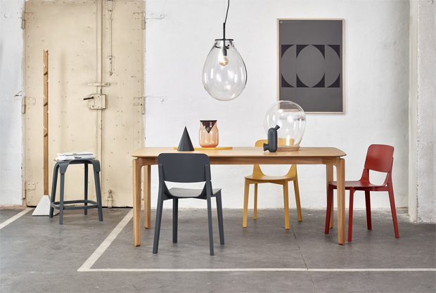 TON, fa, bútor, Leaf, étkező, szék, asztal