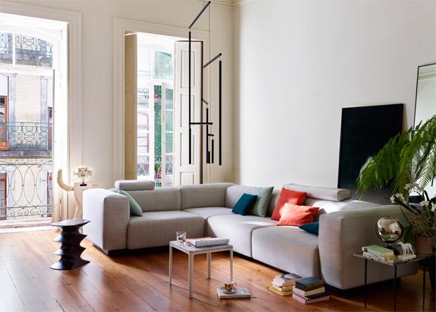 Jasper Morrison, Vitra, kanapé, moduláris, design, bútor