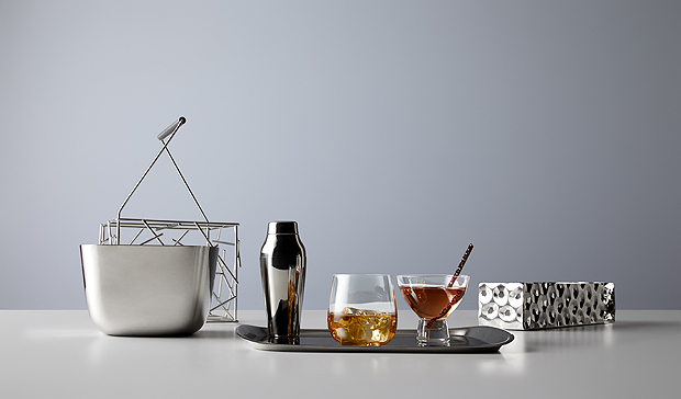 Alessi, repülő, Delta Airline, teríték, porcelán, kristály, tálca, pohár, tányér, teríték