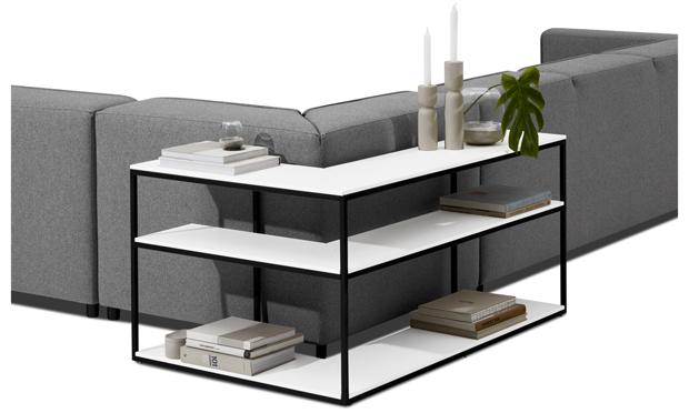 tároló, vékony, konzol, asztal, BoConcept, Bordeaux, design, bútor