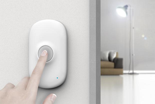 Light Bell, fénycsengő, Bluetooth, hallásérült, Ian Bok