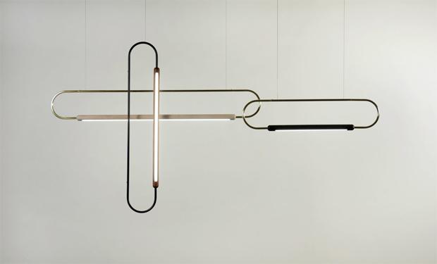 lámpa, világítás, gemkapocs, Hollis+Morris, design