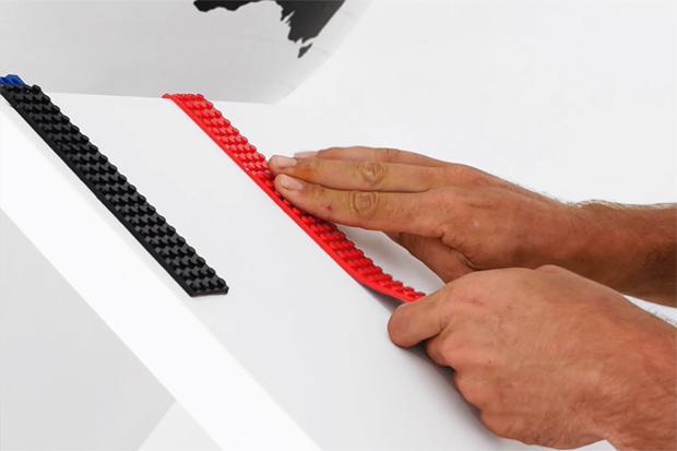 LEGO, öntapadós, rugalmas, alap, Nimuno Design Studio